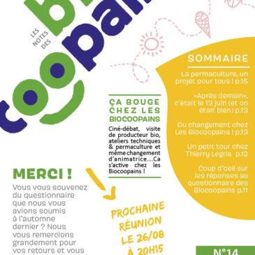 Journal des Biocoopains n°14