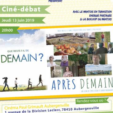 Ciné-débat : «Après Demain» de Cyril Dion et Laure Noualhat