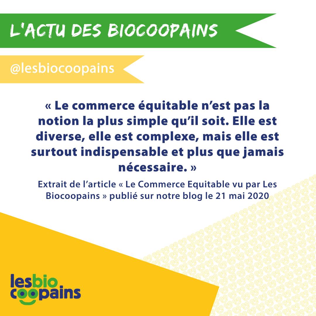 Le Commerce Équitable vu par Les Biocoopains