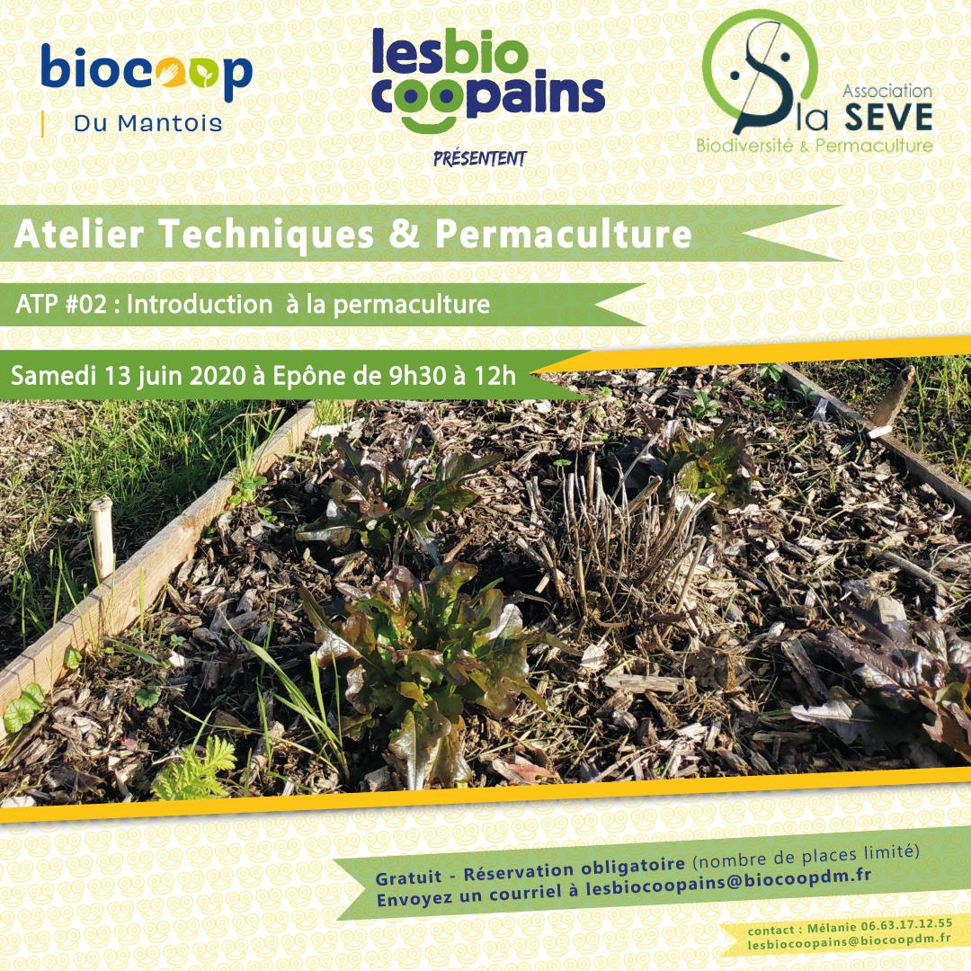 Atelier Techniques & Permaculture #02 : Introduction à la permaculture le samedi 13 juin 2020