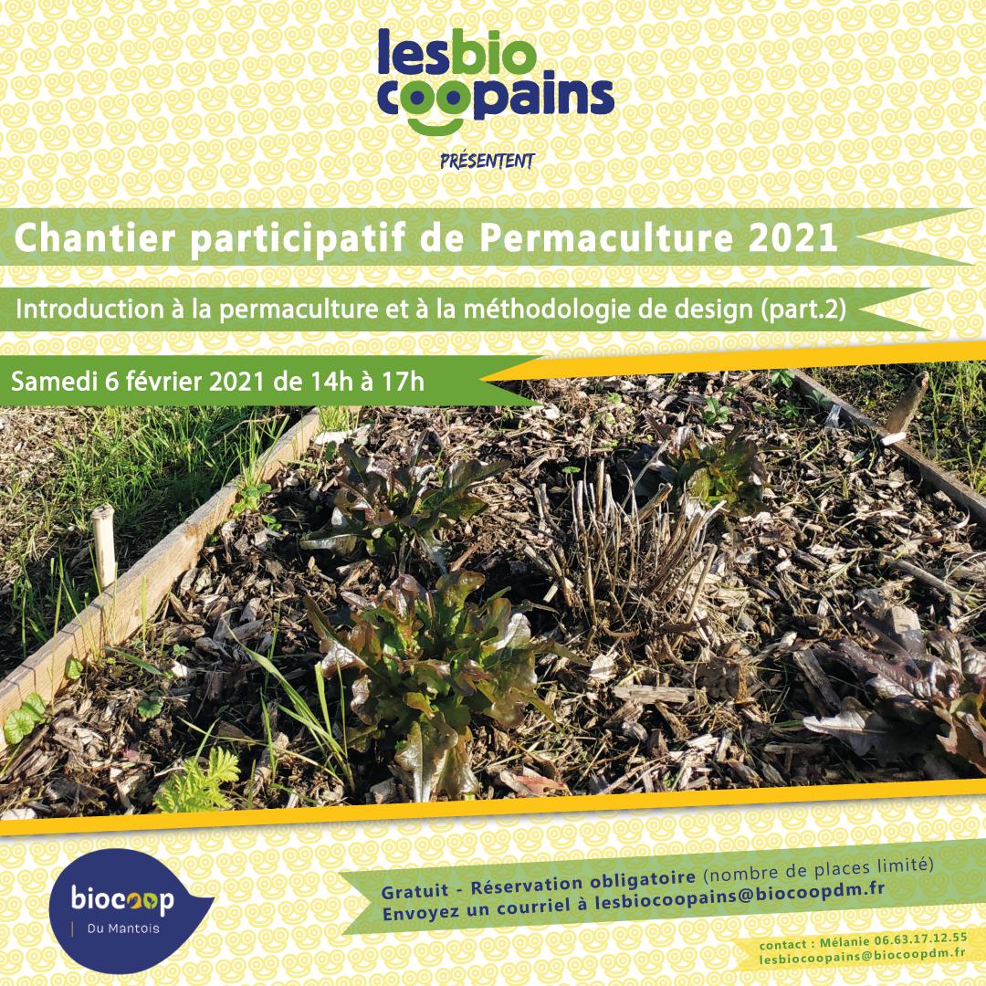 Rdv samedi 6 février 2021 pour le deuxième atelier de notre chantier participatif permacole 2021