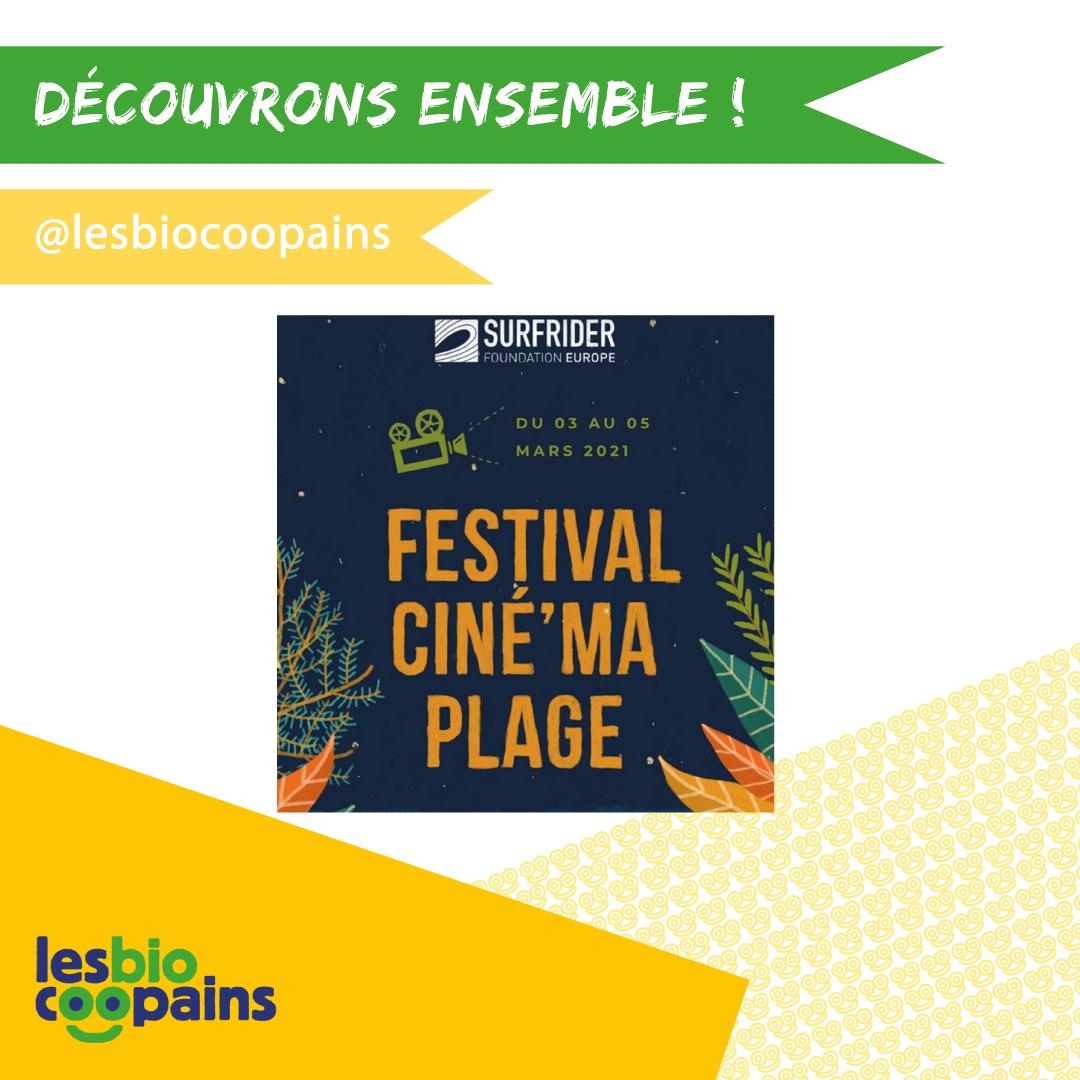 Les Biocoopains vous conseillent : le Festival Ciné'Ma Plage organisé par Surfrider Europe du 3 au 5 mars 2021