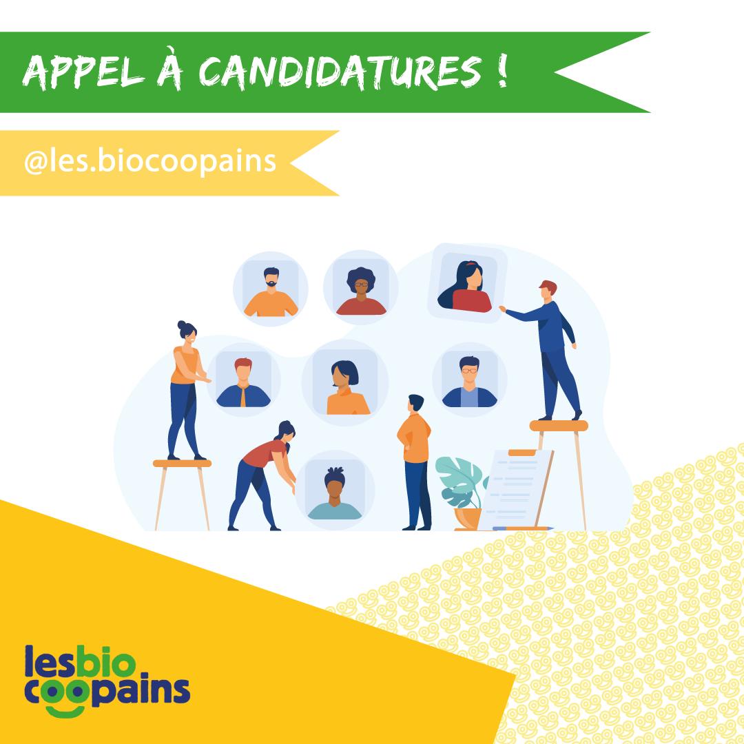 Appel à candidatures : devenez membre du Conseil d'Administration des Biocoopains !