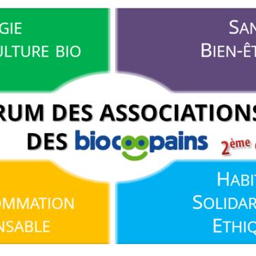 [27 septembre] Forum des associations des Biocoopains
