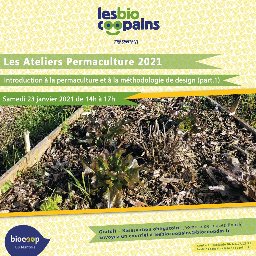 C'est officiel ! Notre nouveau chantier participatif «permaculture 2021» commence le samedi 23 janvier !