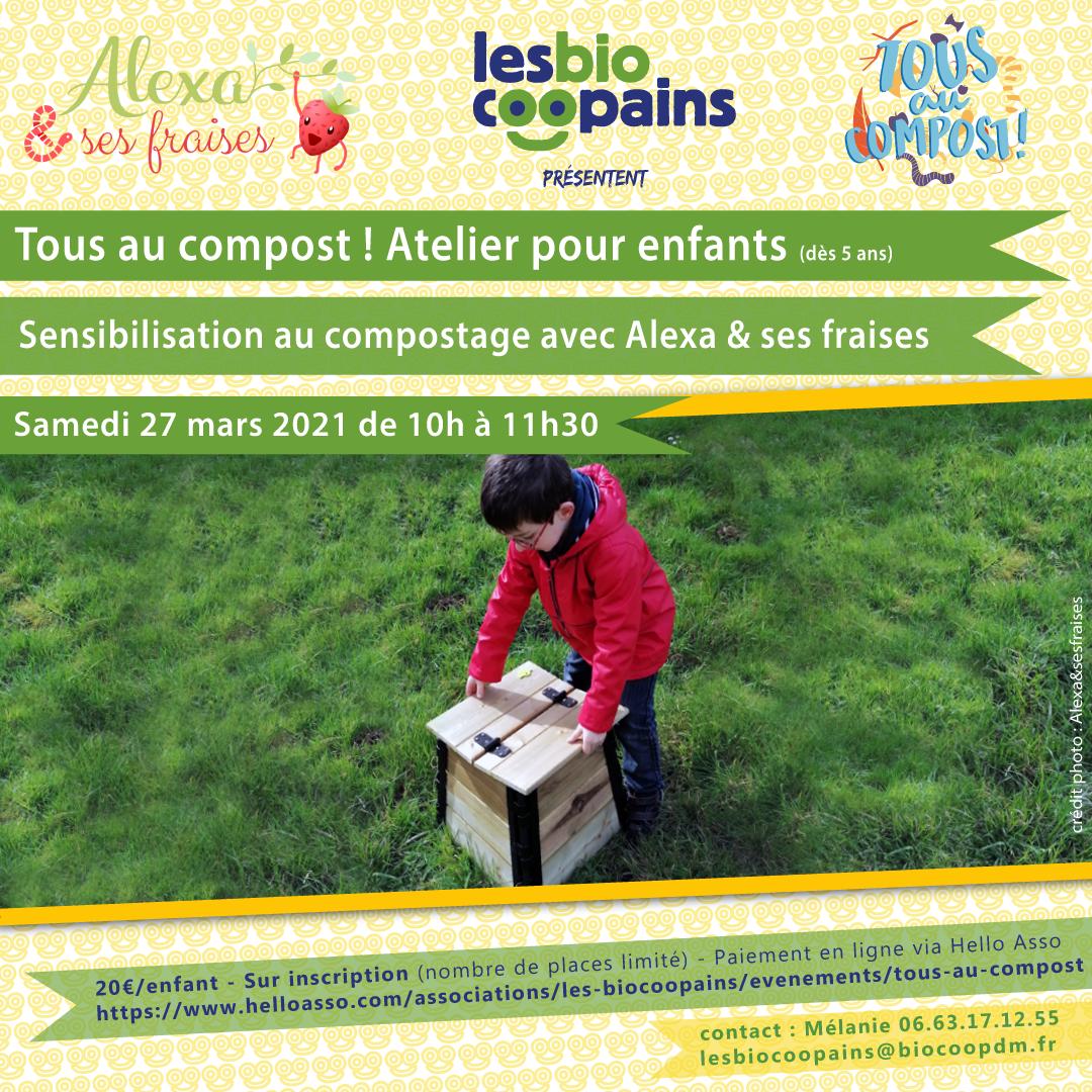 En mars, tous au jardin (et au compost) avec Les Biocoopains !