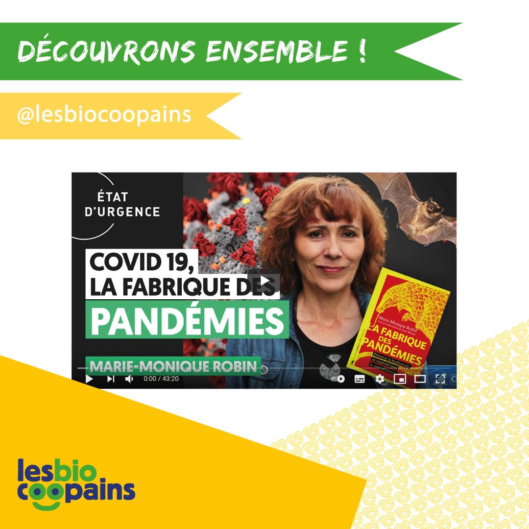 «La fabrique des pandémies», le dernier né de Marie-Monique Robin